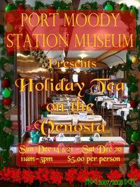 Holiday Tea Poster