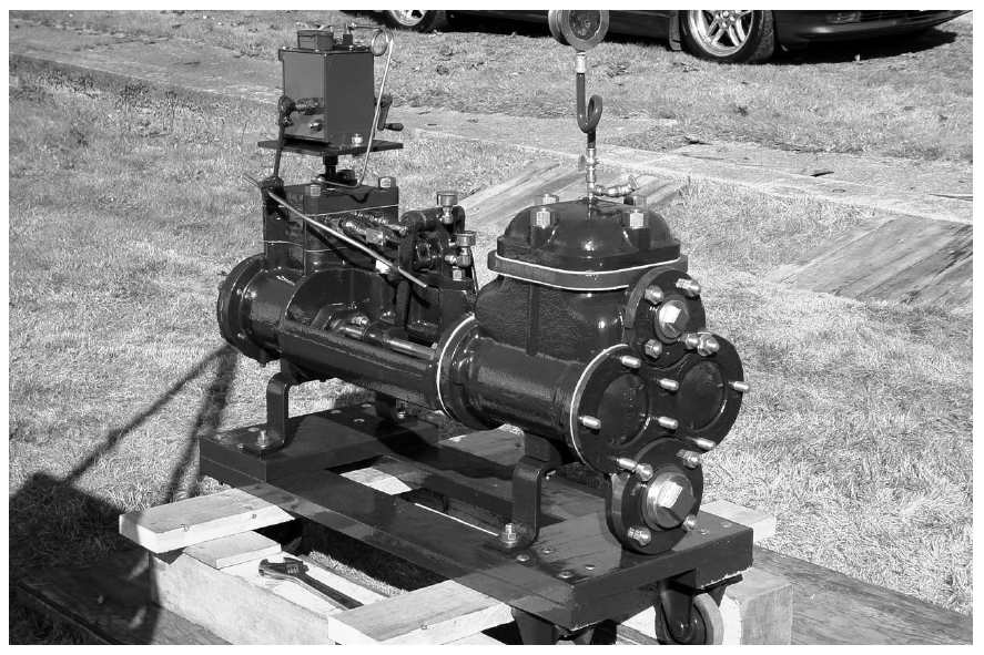 Restored Steam Pump